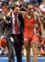Coach Ryan with 2X Buckeye NCAA Champ and future coach J. Jaggers