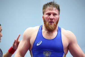 Does menacing top ranked Boltukayev of Russia await Kyle Snyder? Courtesy, UnitedWorldWrestling