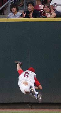 Ryan Freel diving catch