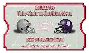 The Ohio State Buckeyes @ The Northwestern Wildcats