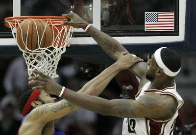 LeBron over Rasheed