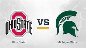 Michigan State (4-1, Big Ten 1-0) at Ohio State (5-0, Big Ten 2-0)